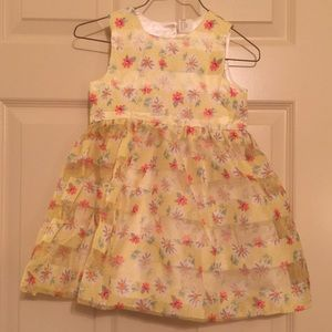 H&M Yellow Spring Dress (NWT)